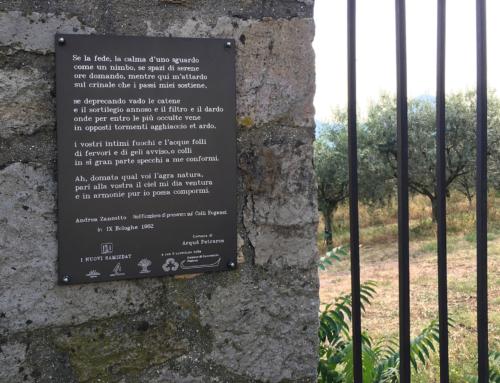 Andrea Zanzotto ad Arquà Petrarca