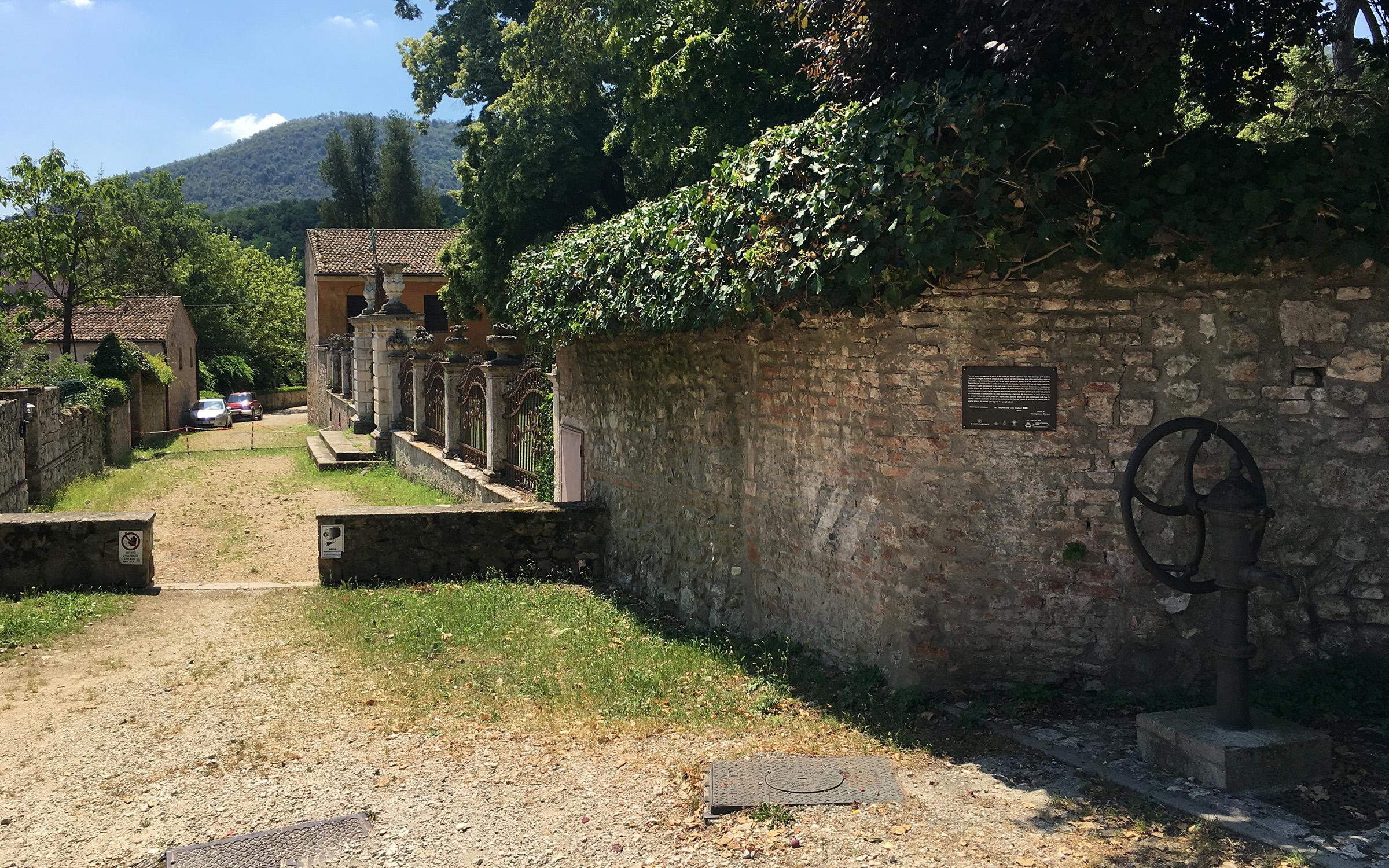 Giovanni Comisso a Galzignano Terme